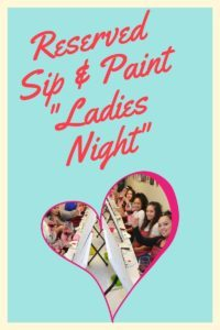 "Private Event ""Ladies Night"" @ Art Fun Studio 