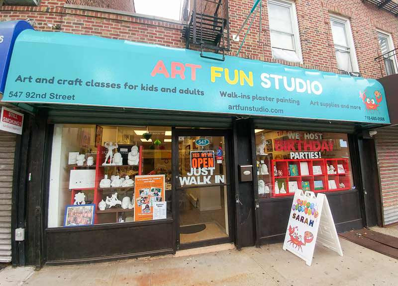 Art Fun Studio on 92 Street