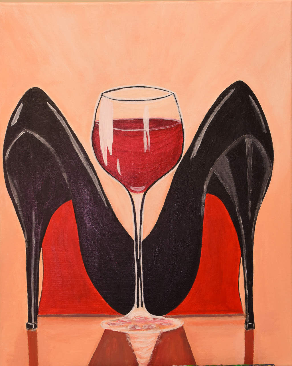 Sip and Paint - shoes
