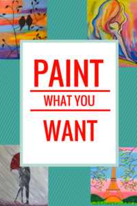 Paint whatever you want